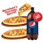FREE 2 Liter Pepsi when you order any 2 pizzas using the promo code FREEPEPSI*.
